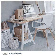 Escritorio Caballete, creamos la base en el color que desees. #escritorio #casadepalo #decoracioninteriores #desing