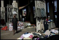 Le marché de Kliptown, à Soweto.
