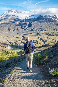 Harry's Ridge Trail, Mount St Helens, Washington State