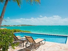 Providenciales - Provo Villa Rental: Oceanfront Luxury Villa - Pool, Jacuzzi, Dock & Tiki Hut! **off Season Special** | HomeAway