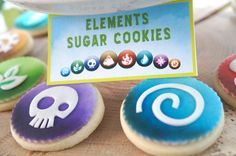 Skylanders Birthday Party DIY Printable Table Tent Food Labels   - Skylanders Inspired Birthday Party Ideas & Supplies on LuluCole.com
