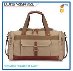 Check out this product on Alibaba.com App New Style Khaki Canvas New Design Travel Bags