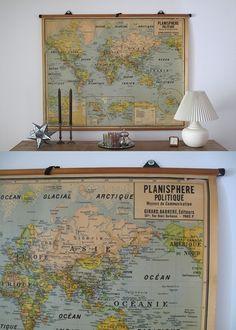 beautiful old map.