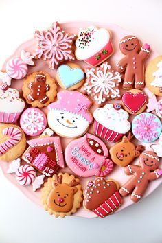 Christmas icing cookies 2014