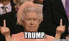 Bless the Queen.