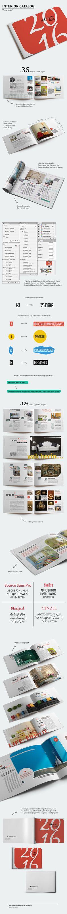 Interior Catalog – Volume 02 on Behance