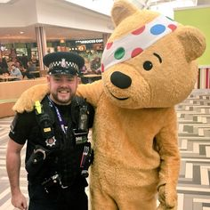 Essex Police, Children In Need, Law Enforcement, Police Officer, Bbc, Crime, British, Teddy Bear, Action