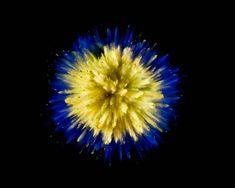 Mesmerizing Colorful Powder Explosions – Fubiz Media
