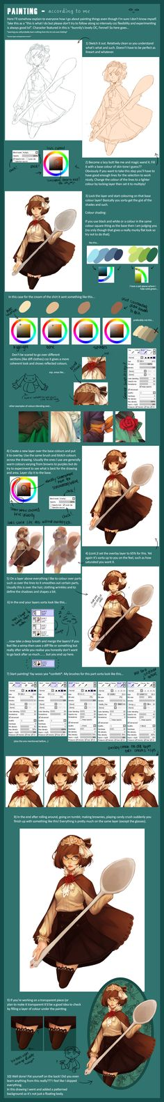 http://fc01.deviantart.net/fs71/f/2013/145/f/4/how_i_tend_to_paint_by_sangcoon-d66hajv.png ✤ || CHARACTER DESIGN REFERENCES | キャラクターデザイン | çizgi film • Find more at https://www.facebook.com/CharacterDesignReferences & http://www.pinterest.com/characterdesigh if you're looking for: #color #theory #contrast #animation #how #to #draw #paint #drawing #tutorial #lesson #balance #sketch #colors #digital #painting #process #line #art #tips || ✤