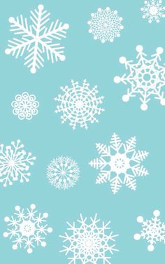 iPhone 5 Wallpaper - Snowflakes Winter Christmas