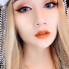 Makeup looks eyeliner , make-up sieht eyeliner aus , maquillage regarde eyeliner , maquillaj Korean Eye Makeup, Eye Makeup Art, Eyebrow Makeup, Skin Makeup, Prom Makeup, Makeup For Asian Eyes, Korean Eyeliner, Makeup Korean Style, Chinese Makeup