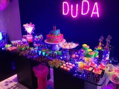 neon candy bar