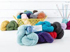 Cloudborn Superwash Merino DK Yarn      Fiber Content: 100% Superwash Merino Wool     Weight/Yardage: 100 g / 221 yds     Knitting Weight: #3-DK     Gauge: 5-5.5 stitches = 1 inch     Recommended Needle: US 6/4mm     Care Instructions: Machine wash gentle or hand wash. Lay flat to dry.     Made in Peru
