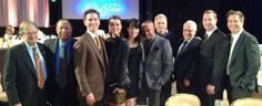 FIRST TIME EVER PHOTO! The ENTIRE CAST of #NCIS and our producers Charles and Gary! LEGENDARY PHOTO! via Pauley's twitpic