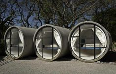 These are pics of the Tube Hotel in Mexico, could this be the answer for temporary accommodation in Christchurch? Who wouldn't mind staying here for a couple of weeks?
