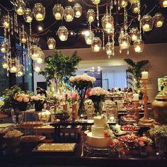 #dessert #wedding #food #fun #cake #candy #flowers #pink #rose #lights