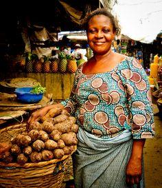 Market Woman, Lagos, Nigeria