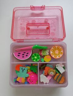 I want some cute erasers this year