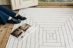Saana ja Olli Piilopirtti Finarte Suvi Kesäläinen Finnish Design Recycled print carpet