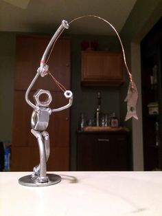 Placid transcribed awesome metal welding projects Let us know how we did Welding Art Projects, Metal Art Projects, Metal Crafts, Diy Projects, Blacksmith Projects, Metal Sculpture Artists, Steel Sculpture, Art Sculptures, Sculpture Ideas