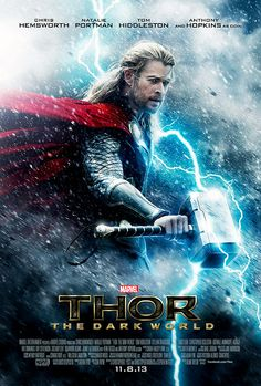 The official 'Thor -The Dark World' poster.