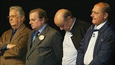 Apesar da imprensa ja fazer...Aécio Neves diz que vai blindar PSDB contra delações  Foto Fernando henrique cardoso , Jose Serra, Geraldo Alckmin