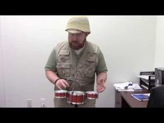 Desktop Drum Set - Portable Rimshots Review - YouTube