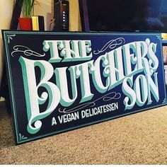 Restaurant Signs, Sign Writing, Logo Design, Graphic Design, Typography, Lettering, Retro Logos, Calligraphy Letters, Hand Painted Signs