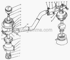 Дистанционный привод управления коробкой передач ПАЗ-3205-110