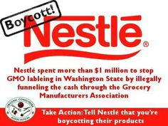 Nestle is just as evil as Monsanto.