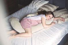 prawidłowa pozycja snu w ciąży