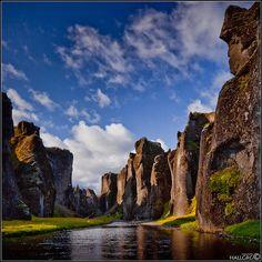 Geological Photography - Fjaðrárgljúfur Canyon