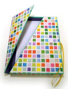 Schachteln - FebruarKonfetti - Rezepte & Muster Schachtel - ein Designerstück von paperfun bei DaWanda