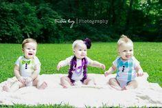 Triplets 6 months