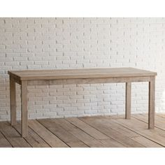 Tavolo rettangolare in legno di recupero