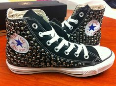 $ 1 500 Converse Key Closet Swarovski Crystallized Women Shoes Snakers Shirt | eBay