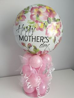 Giant Pink Balloon with Tassel  Mothers Day Gift for Her  Mothers Day Balloons  Mothers Day Decor  Gift for Mom  Mothers Day Brunch