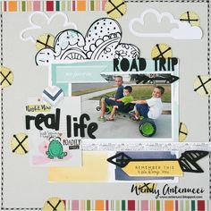 Real Life Road Trip - Scrapbook.com