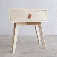#DIY Mid-Century Modern End Table! Click thru for instructions at RYOBI Nation.
