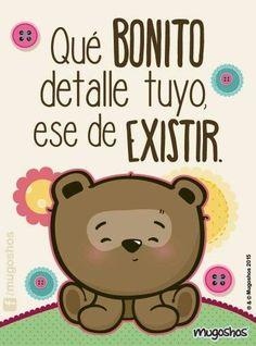Real Love, Love Is Sweet, Cute Love, My Love, Cute Messages, Friend Friendship, Love Phrases, Spanish Memes, Love Wallpaper