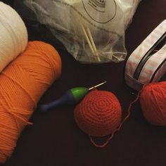 shimmereecreation:: I'm working away on a new order--a Chirp doll! --while listening to music on my iPod (The Doors and Lou Rawls--just to name off a couple...). #crochet #crochetwip #handmade #amigurumi #peepandthebigwideworld #chirp #doll #plush #etsy #thedoors #lourawls #music