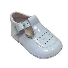 Leon Shoes - Blue Soft Sole Shoe (3229)