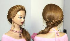 Prom hairstyles for long hair. Romantic bridal hairstyles-rope braiding with three strands