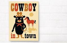 Cowboy in Town | Ingela P. Arrhenius | Artists | Artworks | Happy Spaces