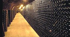 Endless wine cellar
