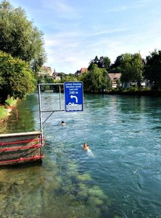 Switzerland is filled with art, culture, food, and these 7 Free Things To Do in Bern that won't cost you a dime while visiting the historic capital. Swimming in the glacier-fed Aare River is one our favorites! | travel tips | summer vacation | switzerland travel