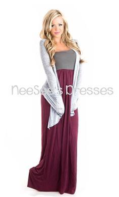 Lightweight Cardigan | Fall Fashion | Modest Clothing