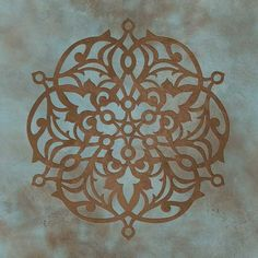 Stencils | Ankara Impression C Stencil | Royal Design Studio