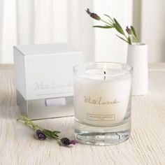 White Lavender Signature Candle - Candles | The White Company