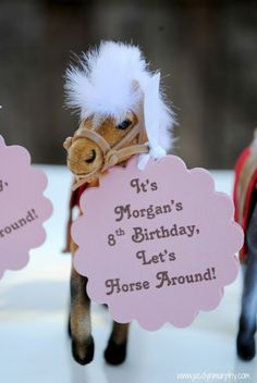 Horseback Riding Party for Harper! @Joy Haser